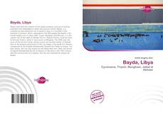 Bookcover of Bayda, Libya