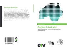 Bookcover of Continent Australien