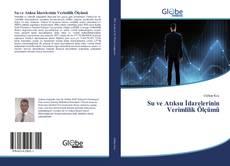 Su ve Atıksu İdarelerinin Verimlilik Ölçümü kitap kapağı