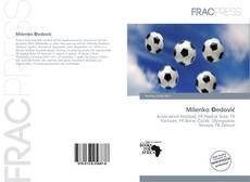 Portada del libro de Milenko Đedović
