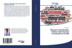 Diaspora Girişimcilik: Türkiye'deki Suriyeli Girişimcilerin Profili kitap kapağı