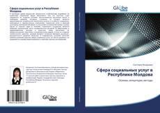 Bookcover of Сфера социальных услуг в Республике Молдова