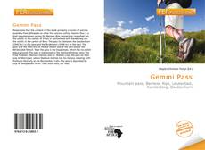 Bookcover of Gemmi Pass
