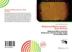 Bookcover of Bollywood Movie Award – Best Actress