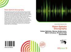 Buchcover von Helen Sjöholm Discography