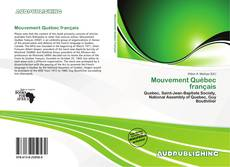 Bookcover of Mouvement Québec français