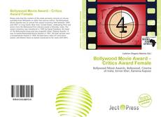 Capa do livro de Bollywood Movie Award – Critics Award Female