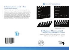 Capa do livro de Bollywood Movie Award – Most Sensational Actress