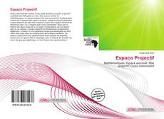 Bookcover of Espace Projectif