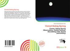 Bookcover of Comet Siding Spring