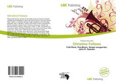 Bookcover of Christine Fellows