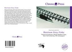 Обложка Harrison Grey Fiske