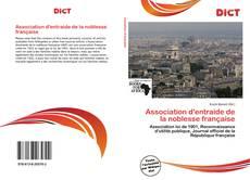 Association d'entraide de la noblesse française kitap kapağı