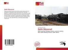 Portada del libro de Delhi Monorail