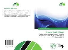 Обложка Canon EOS D2000