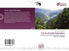 Bookcover of Col du Grand Colombier