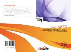 Обложка Canon EOS D30