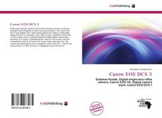 Обложка Canon EOS DCS 3