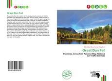 Capa do livro de Great Dun Fell