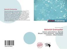 Bookcover of Heinrich Greinacher