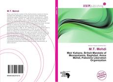 Bookcover of M.T. Mehdi