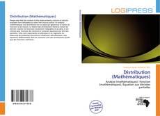 Capa do livro de Distribution (Mathématiques)