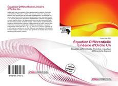 Borítókép a  Équation Différentielle Linéaire d'Ordre Un - hoz