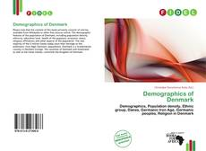 Bookcover of Demographics of Denmark
