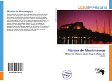 Couverture de Maison de Montmayeur