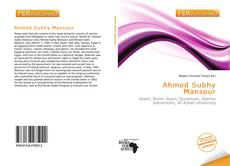 Bookcover of Ahmed Subhy Mansour