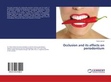 Buchcover von Occlusion and its effects on periodontium