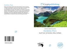Copertina di Gardena Pass