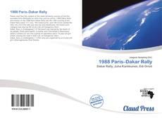 1988 Paris–Dakar Rally kitap kapağı
