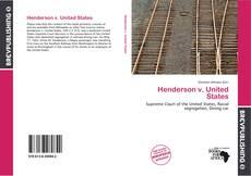 Henderson v. United States的封面