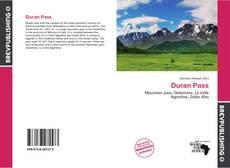 Обложка Duran Pass