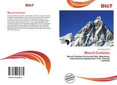 Copertina di Mount Carleton