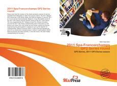 Portada del libro de 2011 Spa-Francorchamps GP2 Series round