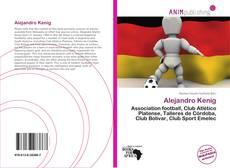 Portada del libro de Alejandro Kenig