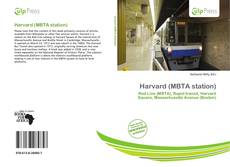 Couverture de Harvard (MBTA station)
