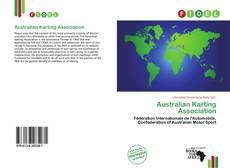 Capa do livro de Australian Karting Association