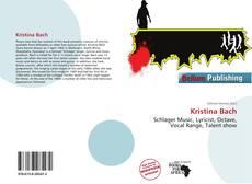 Bookcover of Kristina Bach