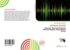 Bookcover of Johanna Gadski