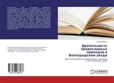 Обложка Деятельность православных приходов в Белгородском уезде