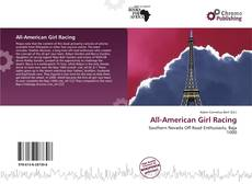 Bookcover of All-American Girl Racing