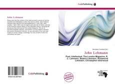 Buchcover von John Lehmann