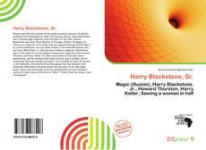Bookcover of Harry Blackstone, Sr.