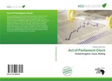 Buchcover von Act of Parliament Clock