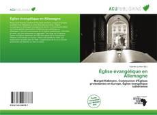 Buchcover von Église évangélique en Allemagne