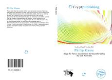 Bookcover of Philip Game