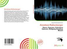 Buchcover von Anneliese Rothenberger